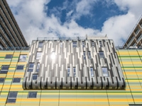 Image showing rainscreen cladding at Edgware Road London.